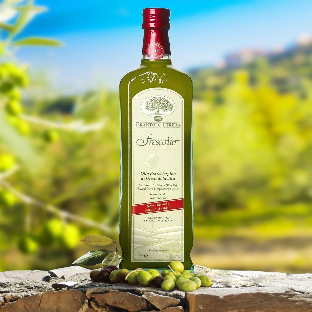 Frescolio Cutrera Novello Olivenöl neue Ernte 2014