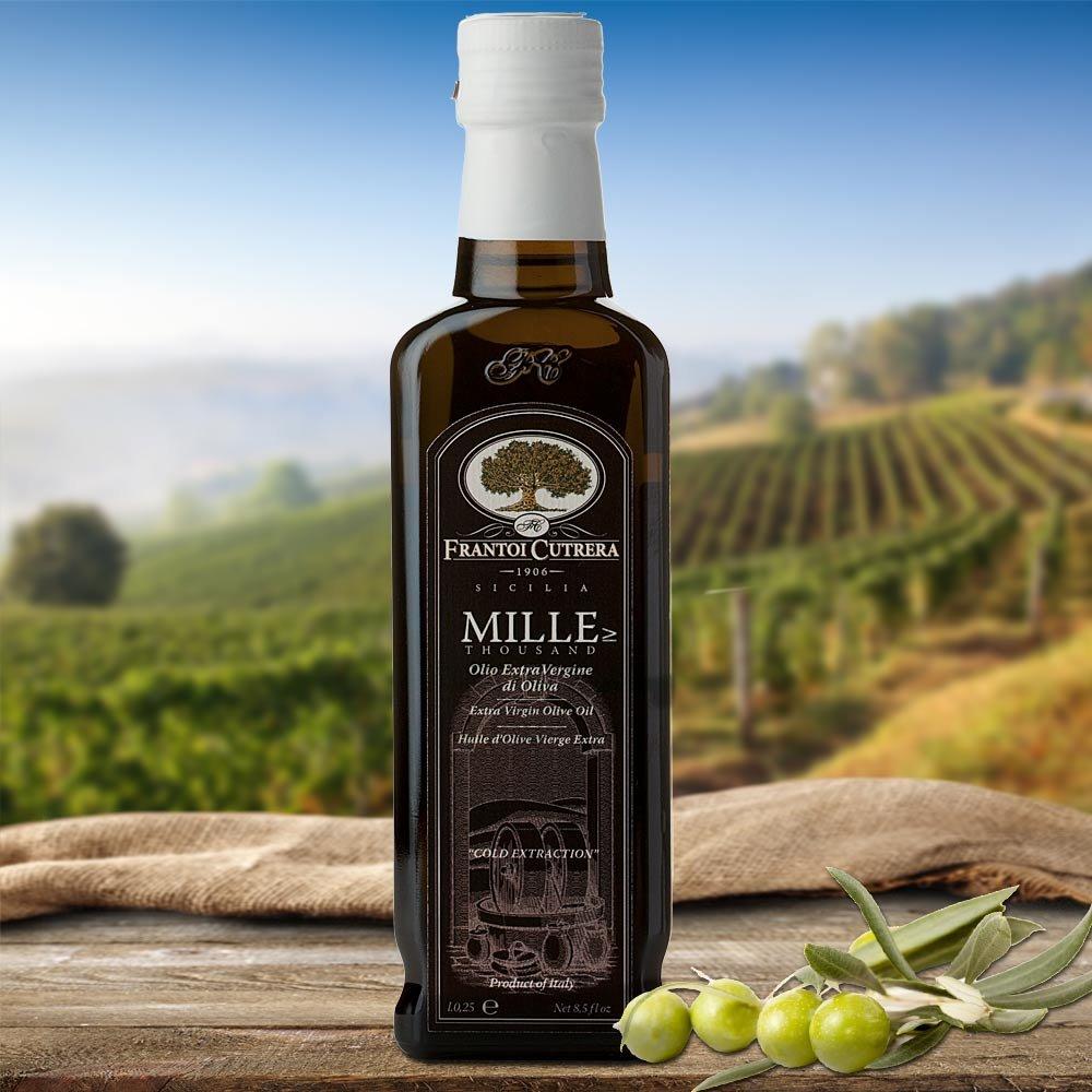 Frantoi Cutrera MILLE Olivenöl 1000 Tausend Polyphenole