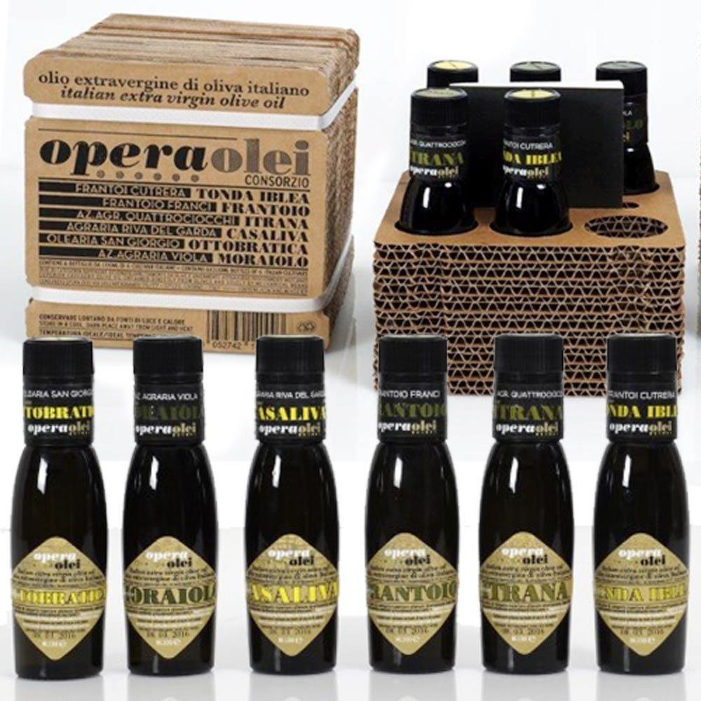 Opera Olei Testsieger Olivenöl in Pappbox Flos Olei