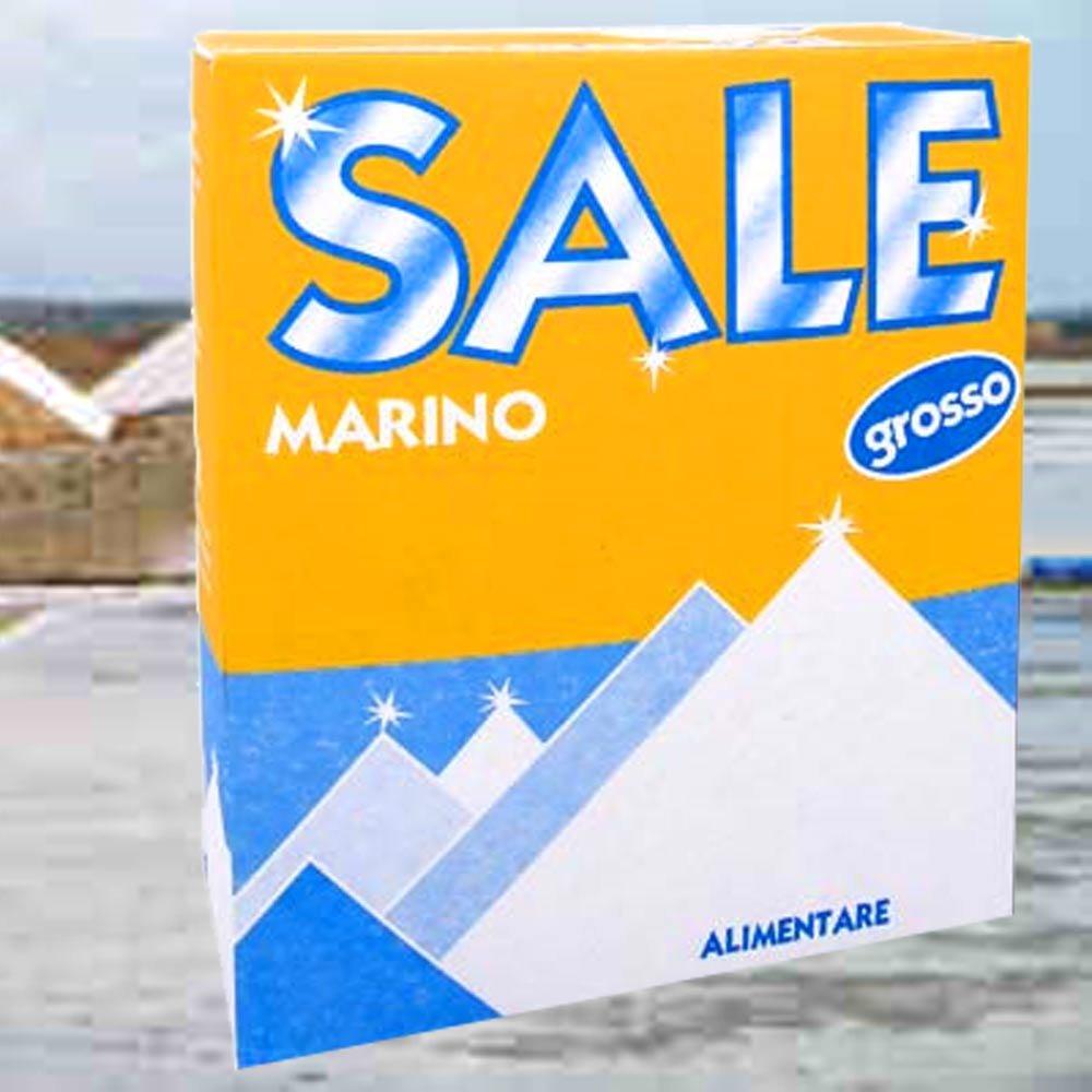 grobes Meersalz Sale marino grosso 1kg Italien