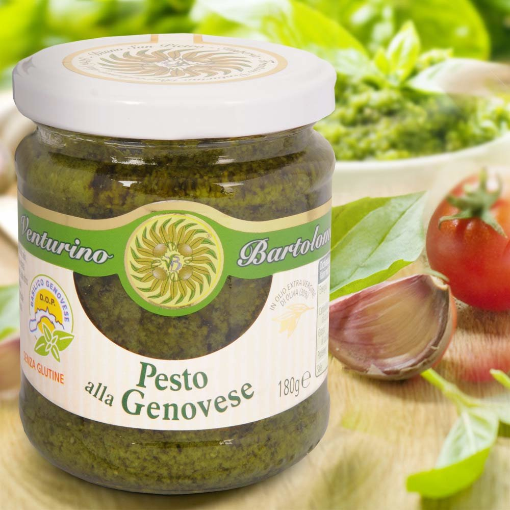 Pesto alla Genovese Pesto Genoveser Art Venturino Ligurien