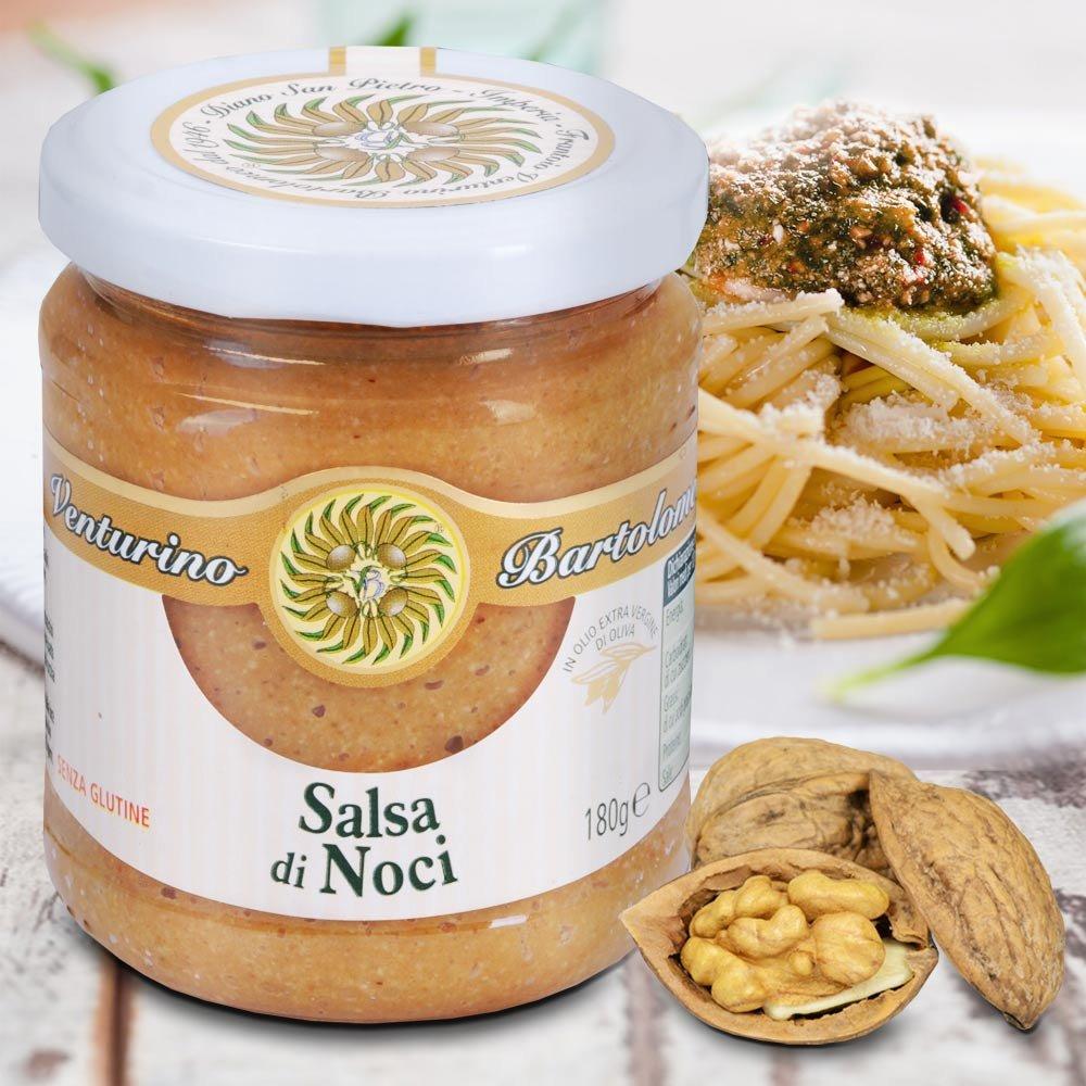 Walnuss Pesto Salsa di Noci Frantoio Venturino Ligurien