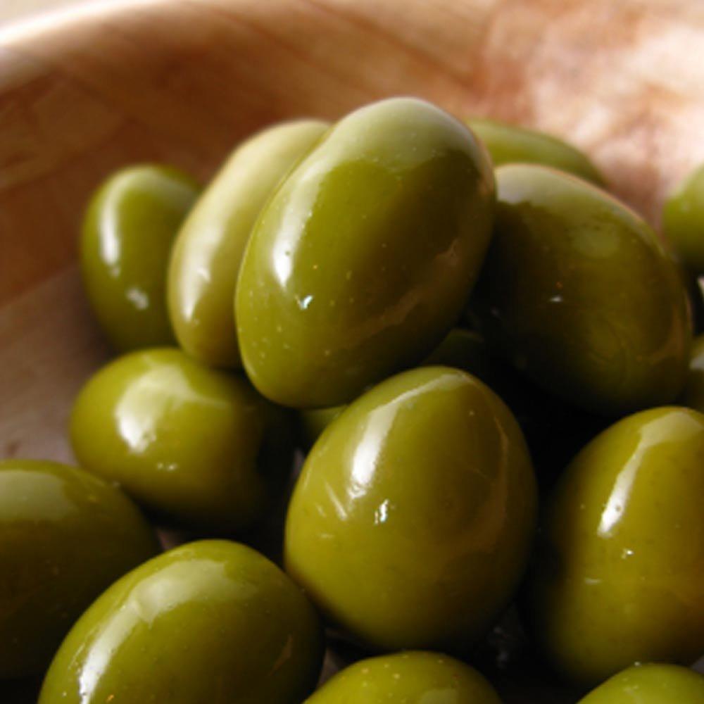 Grüne Riesenoliven mit Stein Primopasto Olive Verdi Giganti