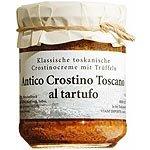 Antico Crostino Toscano mit Tr�ffeln H�hnerleberpastete Antico Crostino Toscano al Tartufo