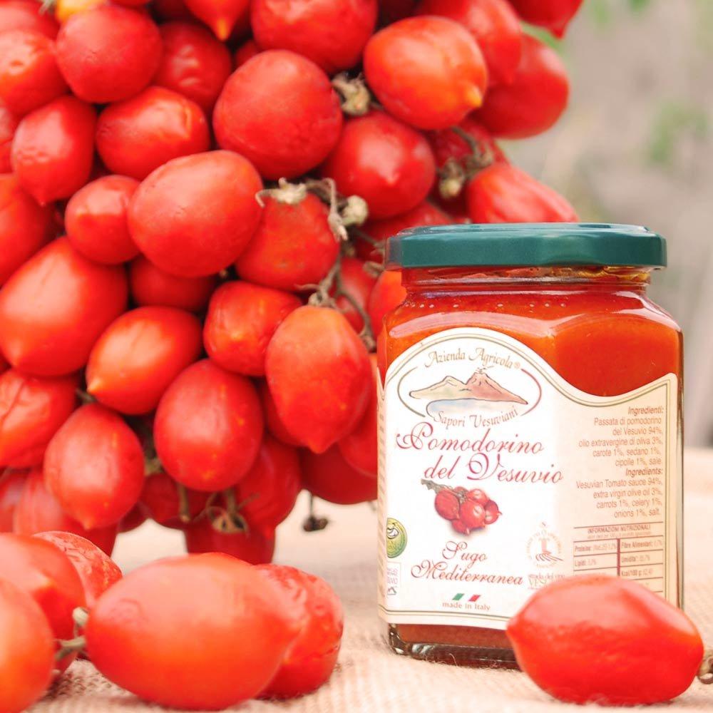 Piennolo Tomaten Filets Sapori Vesuviani Kampanien