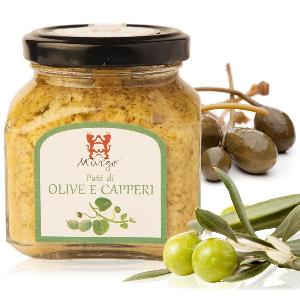 Oliven Kapern Pate Barone del Murgo Sizilien