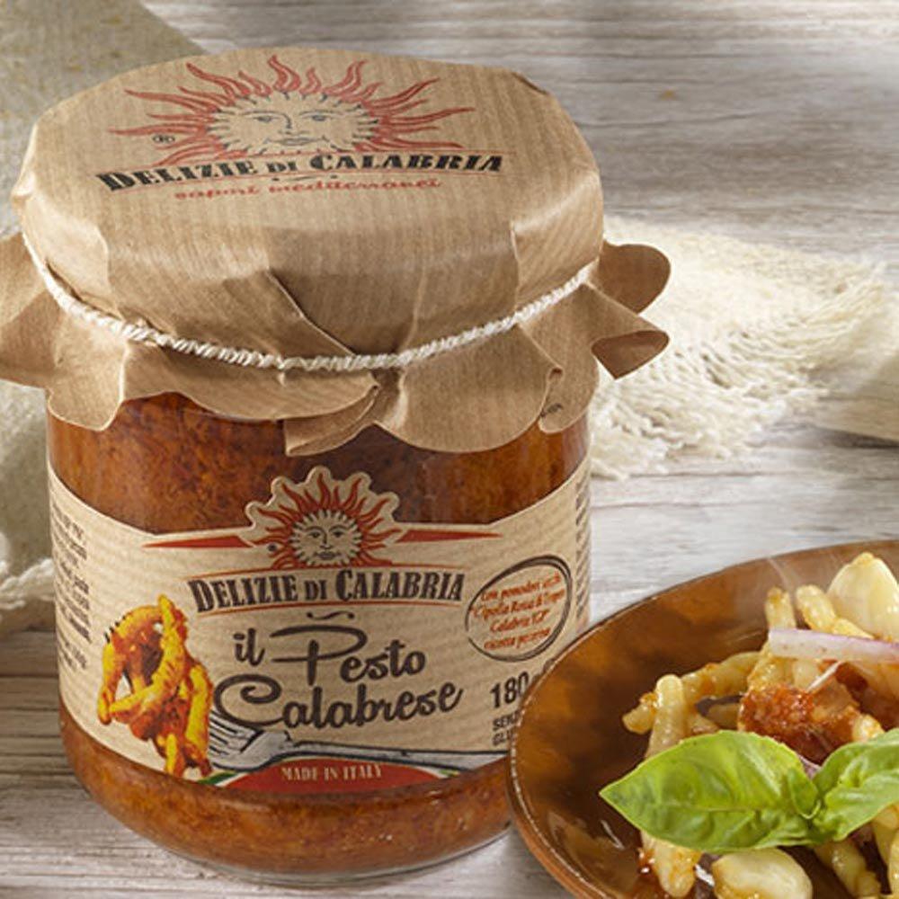Pesto Calabrese Kalabrien scharf Delizie di Calabria
