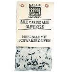 Meersalz mit schwarzen Oliven Abruzzen Casale Paradiso Sale Marino alle Olive nere