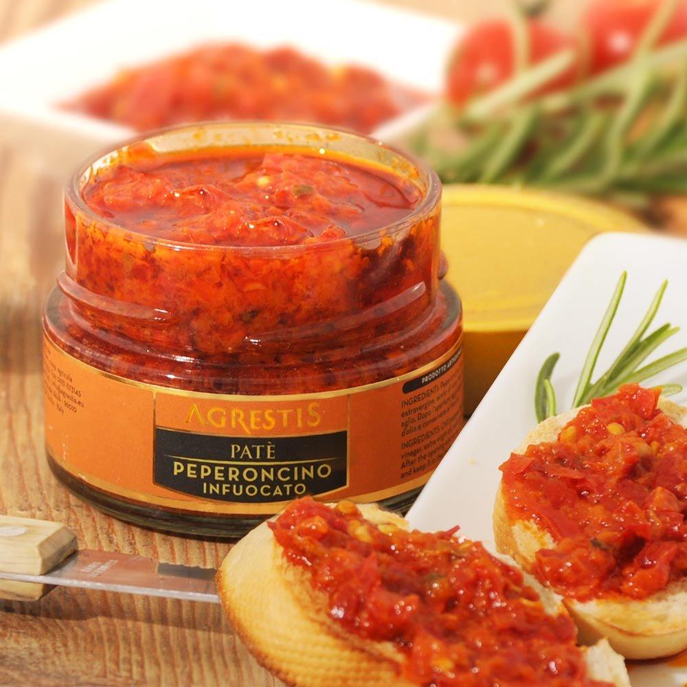 Pat� Peperoncino scharfe Chilipaste