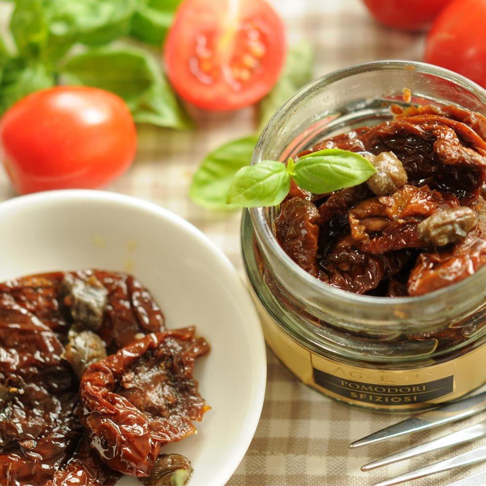 Sizilianische getrocknete Tomaten in Olivenöl Agrestis
