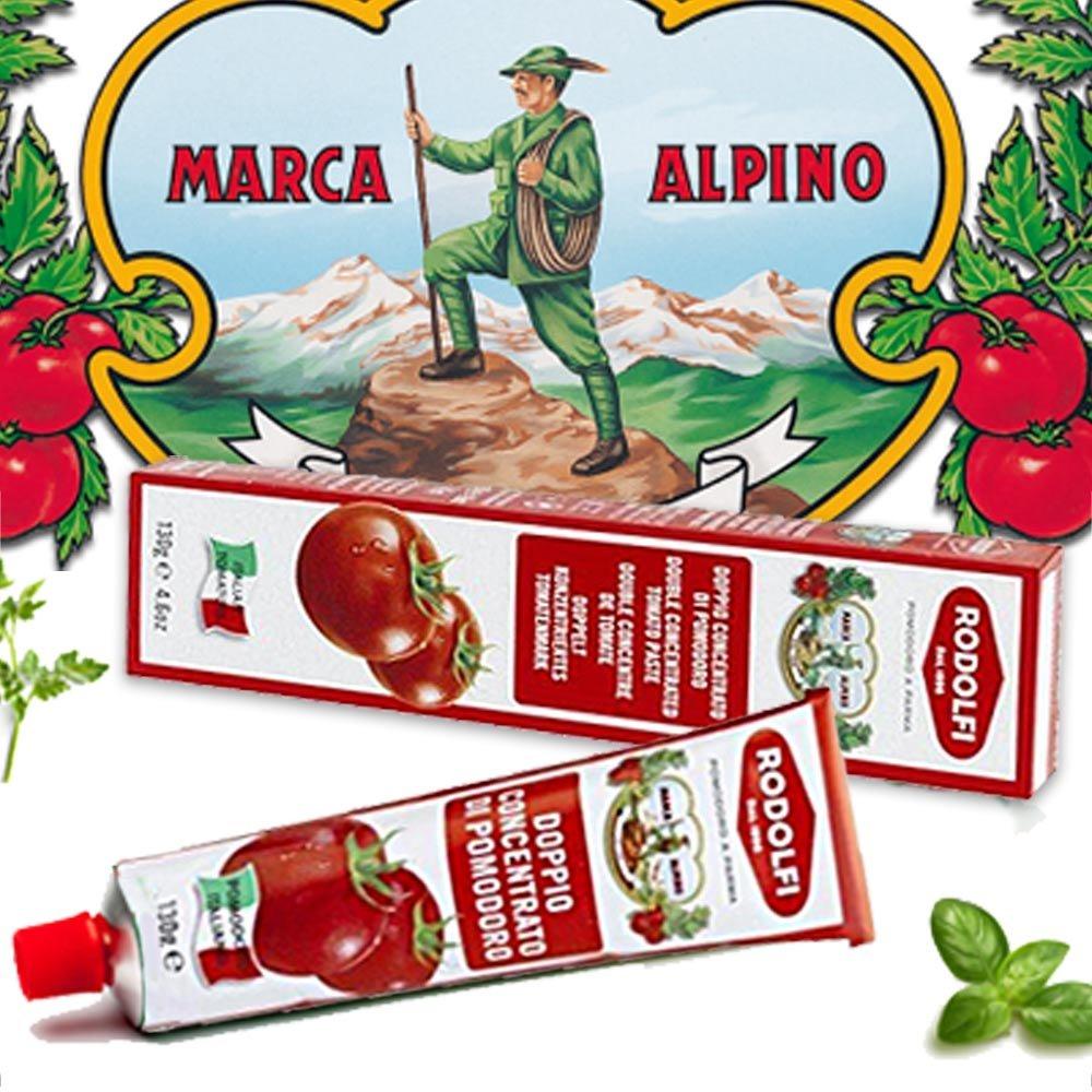 Doppelt konzentriertes Tomatenmark Marca Alpino
