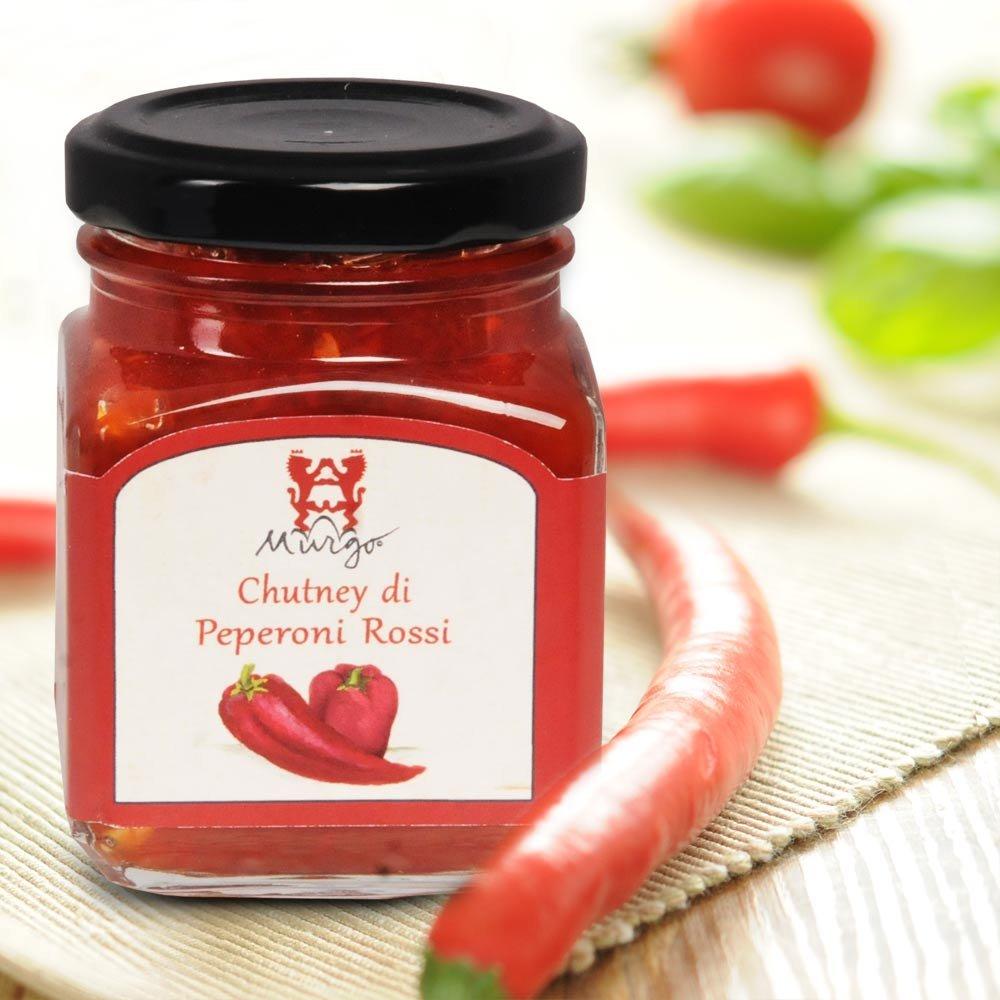 Chutney di Peperoni Rossi Murgo Sizilien