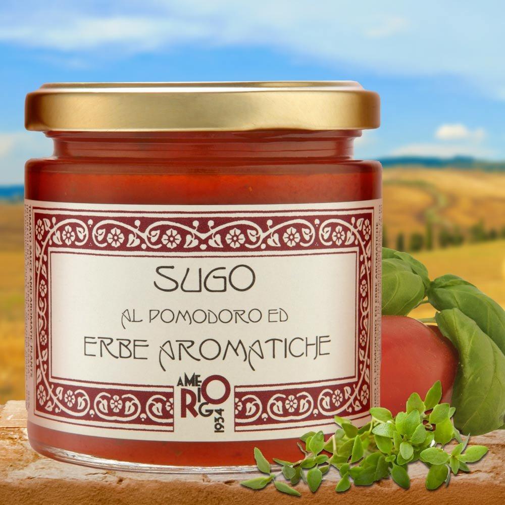 Sugo al pomodoro ed erbe aromatiche Tomatensauce mit Kr�utern Emilia-Romagna