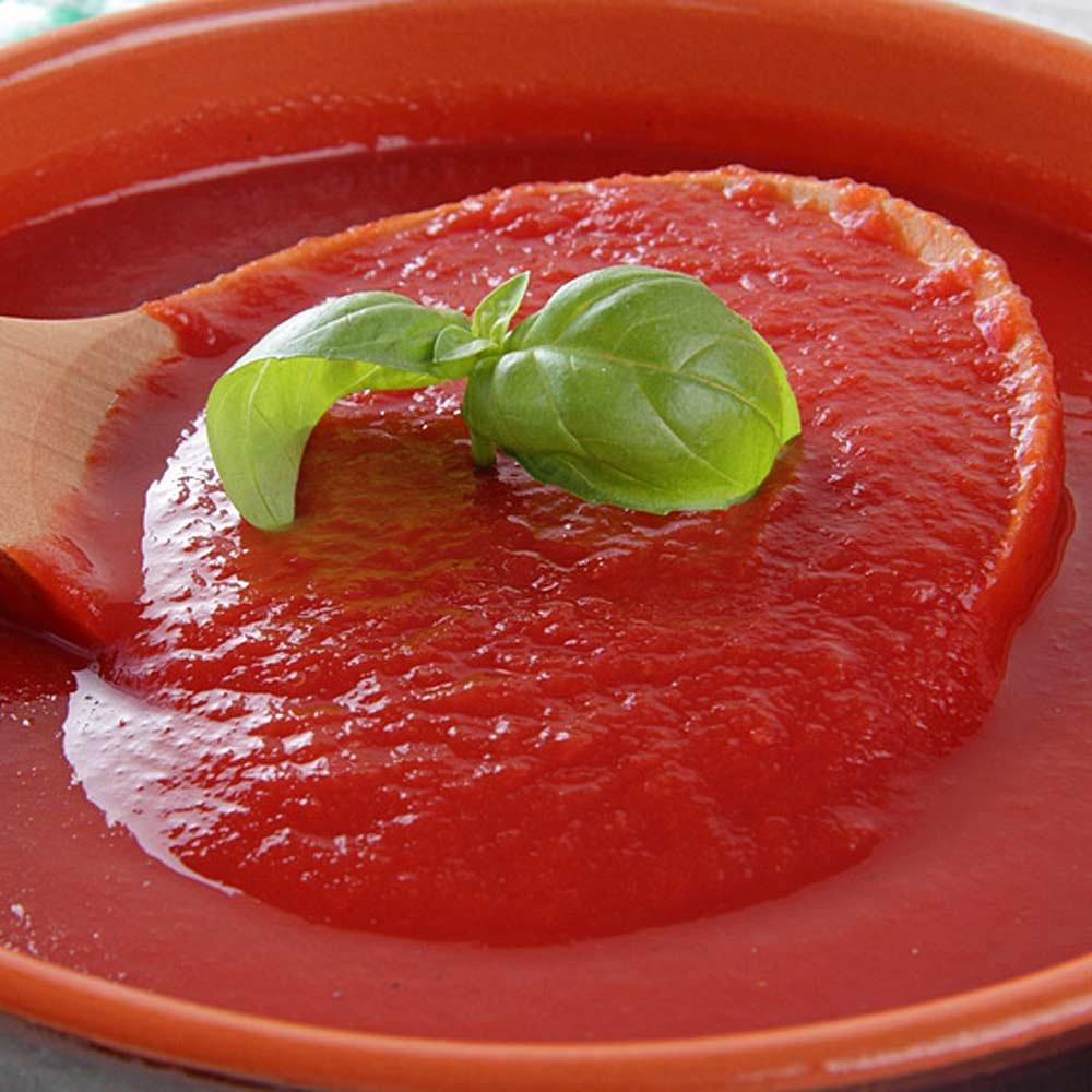 Passierte Tomaten im Glas Passata Pomodoro