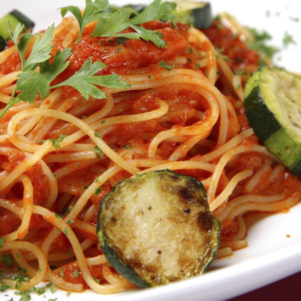 Sugo alle zucchine Locanda La Posta Zucchini Tomatensauce