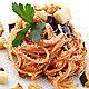 Sugo alle melanzane italienische Tomatensauce mit Auberginen