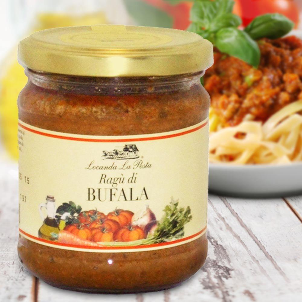 Ragu di bufala Büffelsauce Piemont