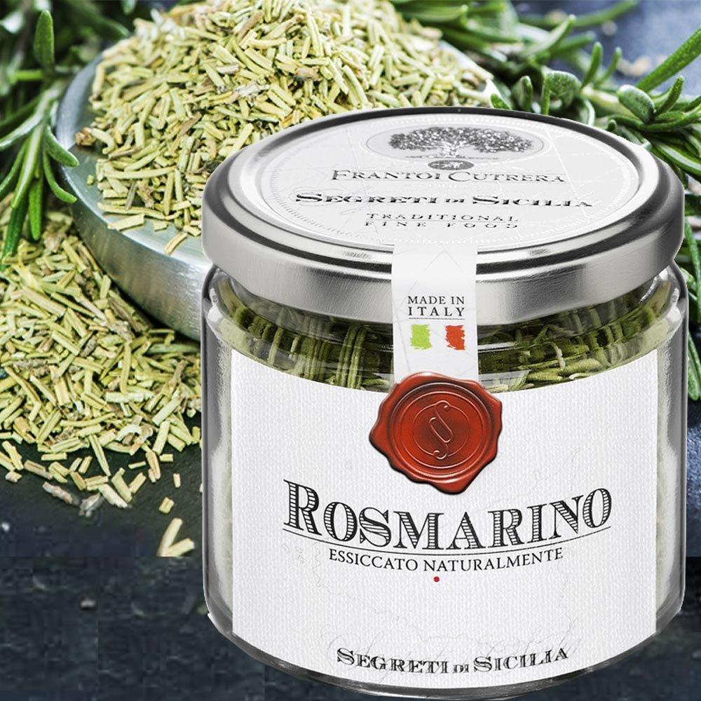 Rosmarino di Sicilia Rosmarin aus Sizilien Frantoi Cutrera