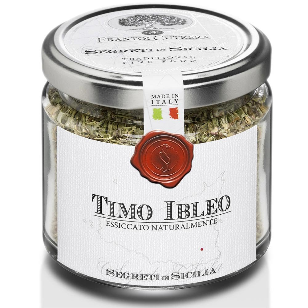 Thymian aus Sizilien Timo Ibleo Frantoi Cutrera