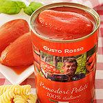Pomodori pelati Italiani Gusto rosso gesch�lte Tomaten Italiani