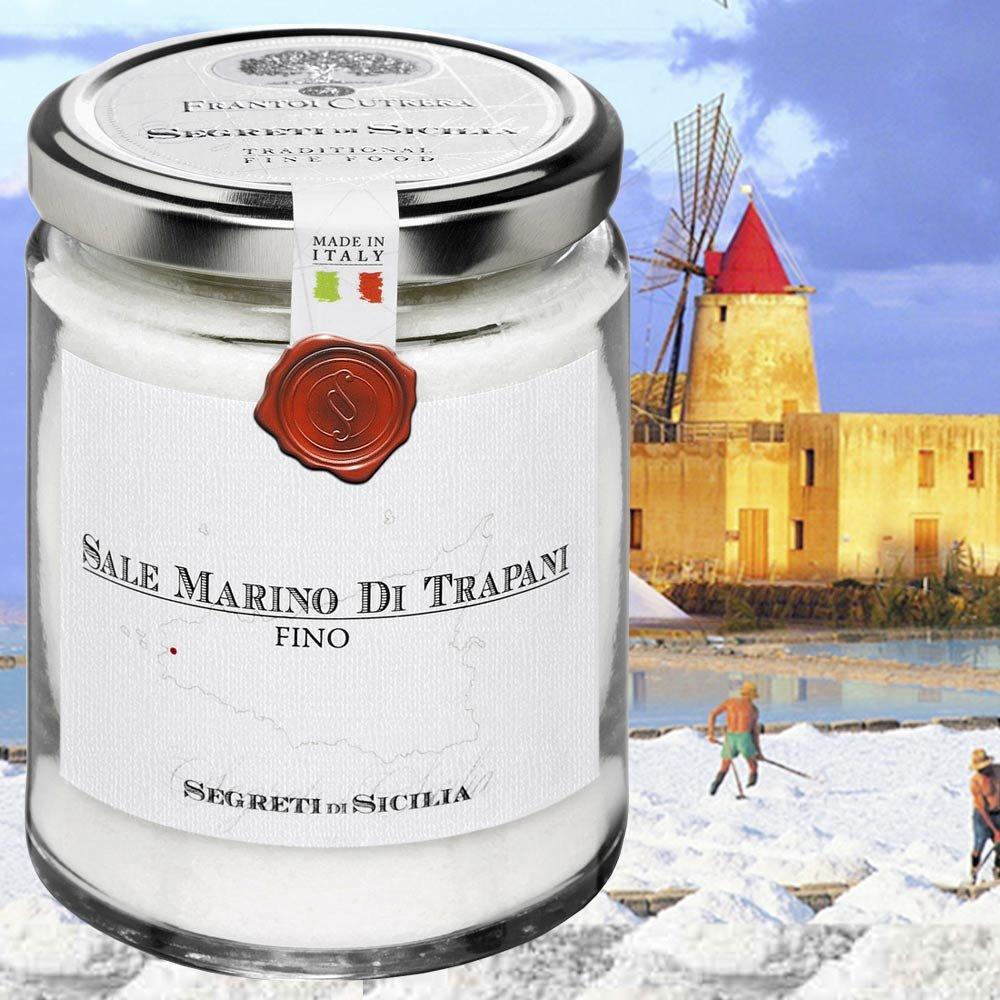 Meersalz aus Trapani fein Trapani sale fino