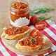 Patè di pomodori secchi Creme aus getrockneten Tomaten