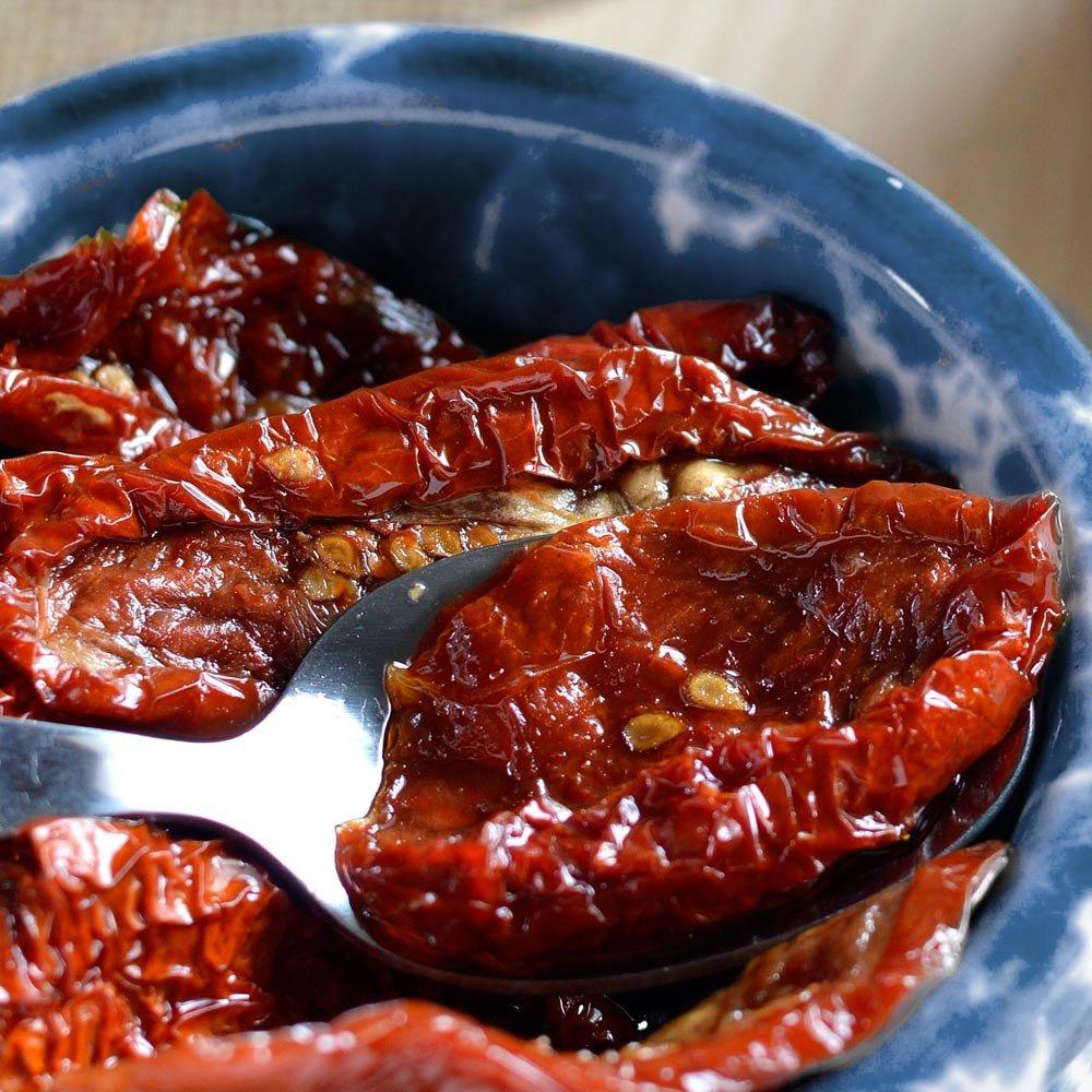 eingelegte getrocknete Tomaten Frantoio Venturino Pomodori secchi Sott',olio