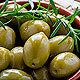 Olive verdi Giganti Zuccato grüne Oliven mit Stein