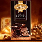 Caffarel Edel-Bitterschokolade mit 70% Kakao