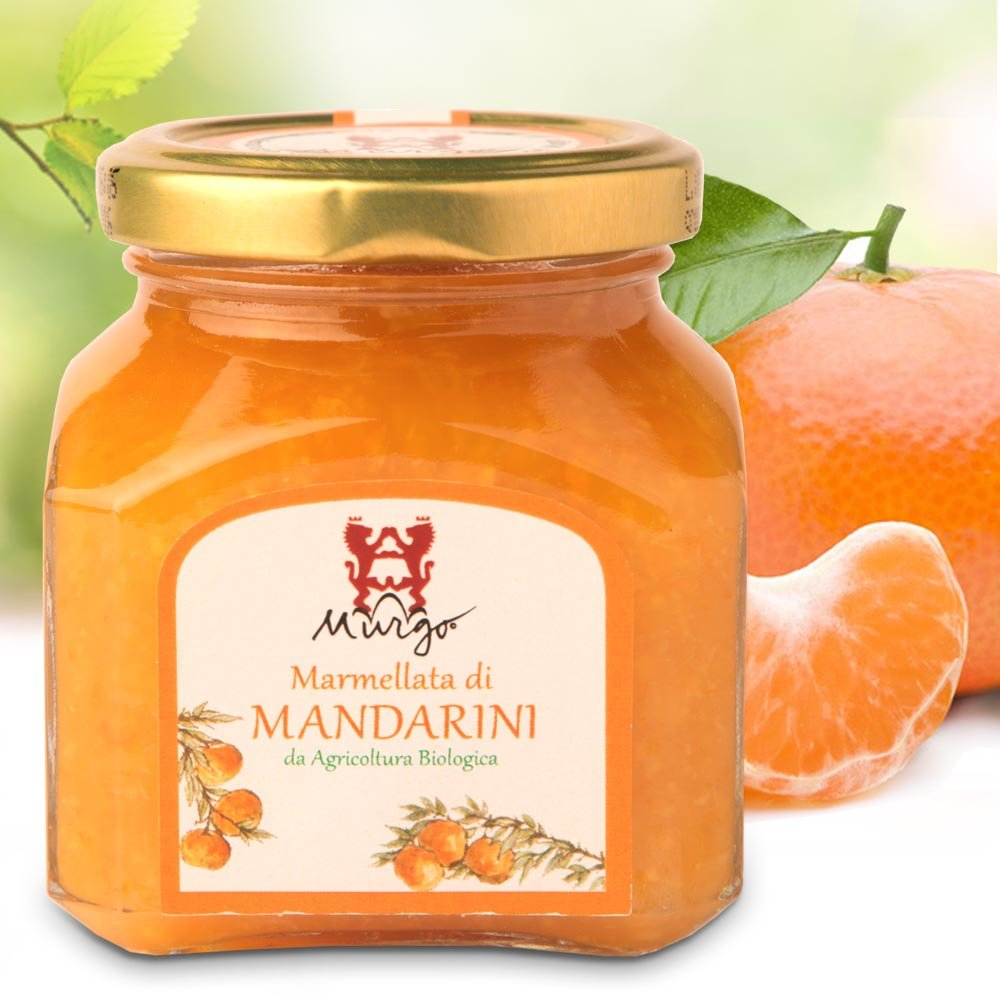sizilianische Mandarinenmarmelade Baron del Murgo Sizilien Marmellata di Mandarini
