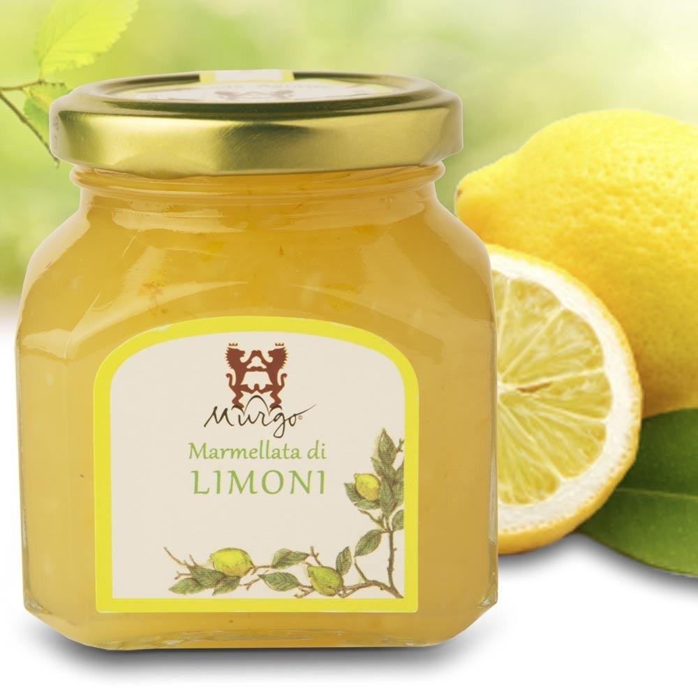 sizilianische Zitronenmarmelade Baron del Murgo Sizilien Marmellata di Limoni