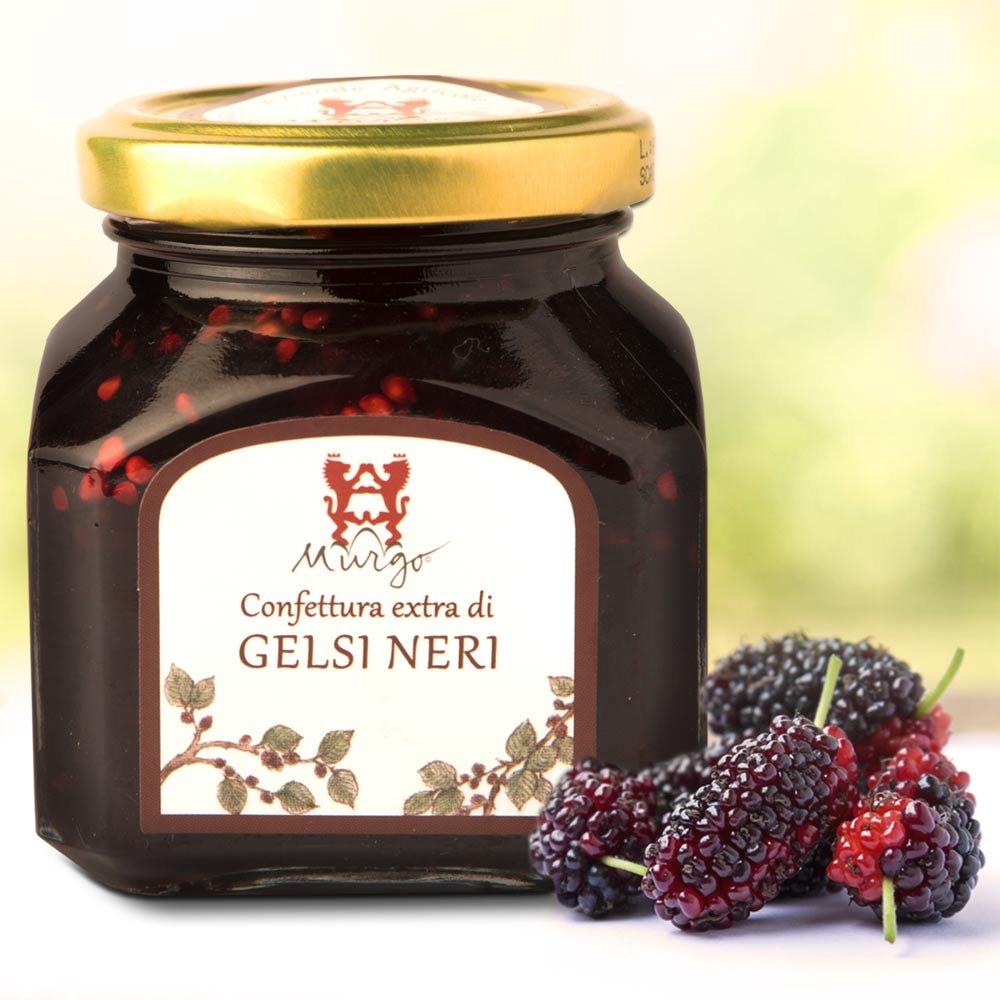 sizilianische Konfit�re schwarze Maulbeere Baron del Murgo Sizilien Confettura di Gelsi Neri