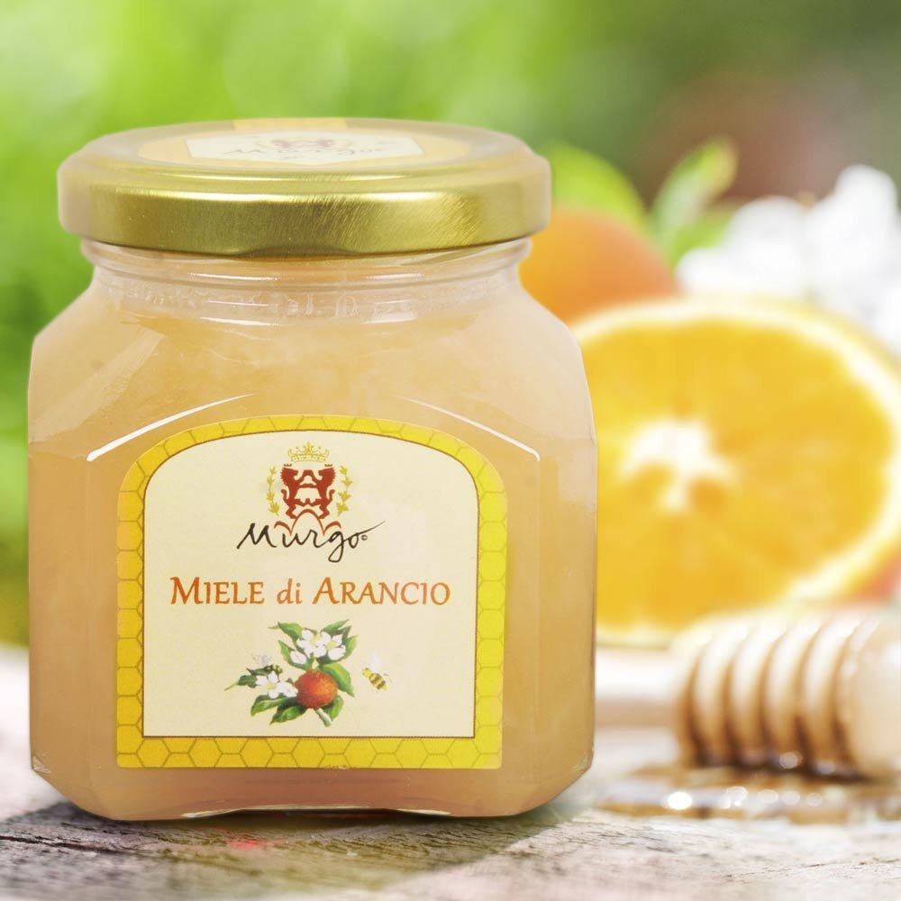 sizilianischer Orangenblüten Honig Miele di Arancio Baron del Murgo Sizilien Orangenhonig