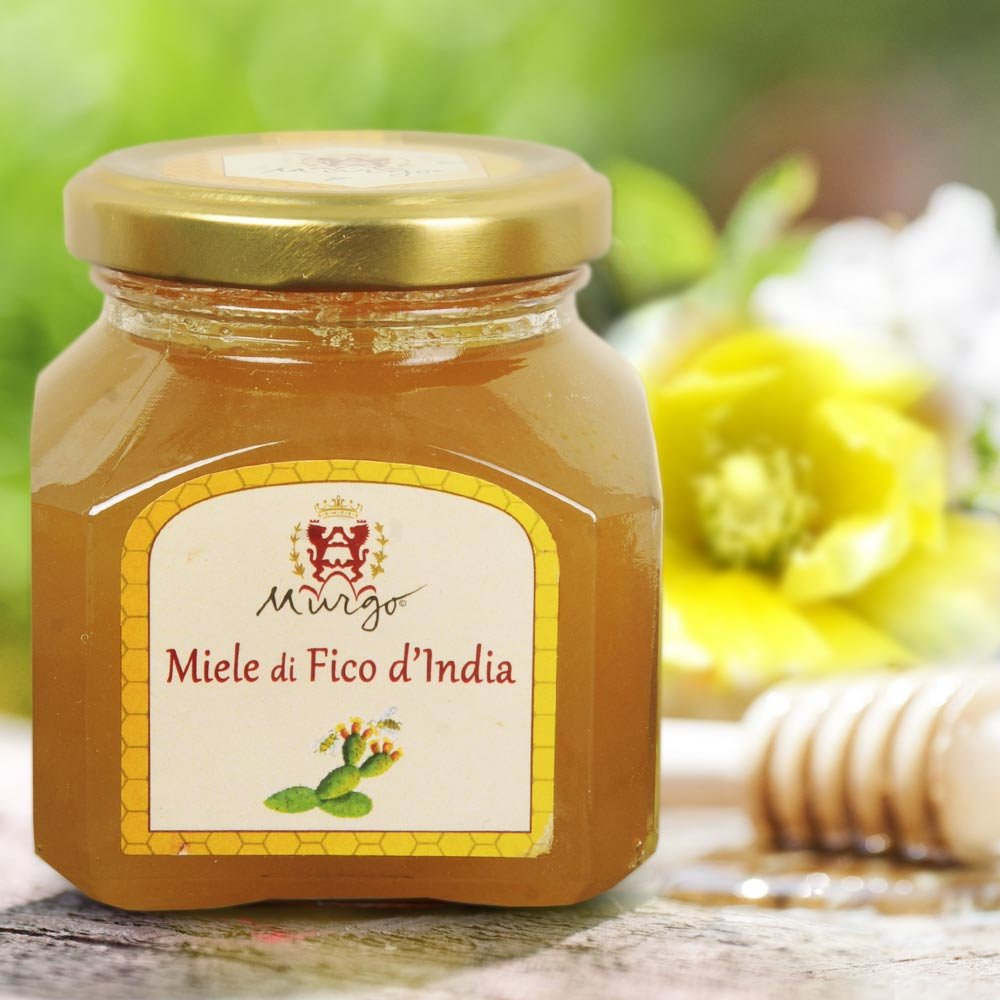 sizilianischer Feigenkaktusbl�ten Honig Miele di Ficodindia Baron del Murgo Sizilien Feigenhonig