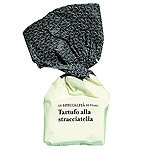 Stracciatella Trüffelpraline einzeln Tartufo dolce Piemont Italien