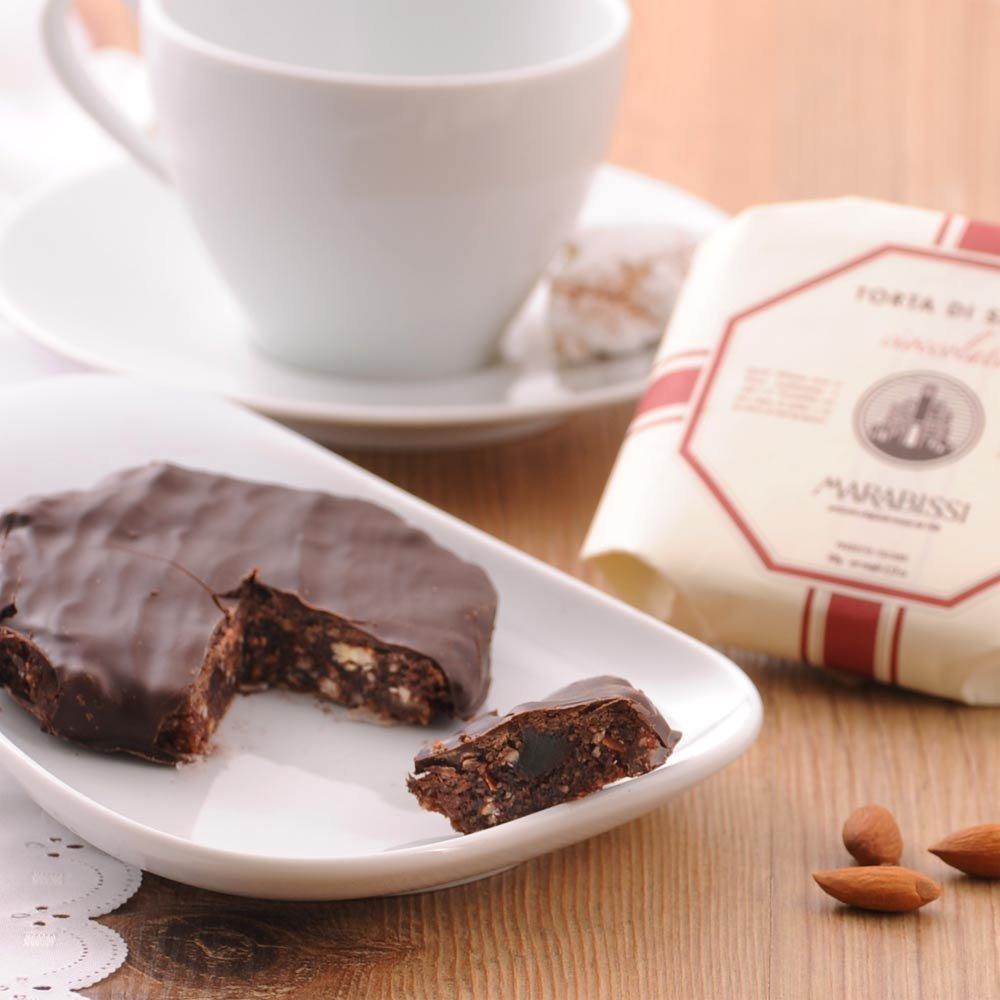 Schokoladen Panforte al Cioccolato Pasticceria Marabissi Siena