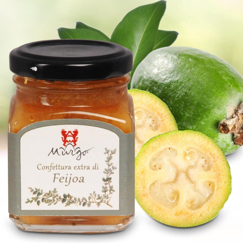 Confettura extra di Feijoa exotischer Fruchtaufstrich Murgo Sizilien