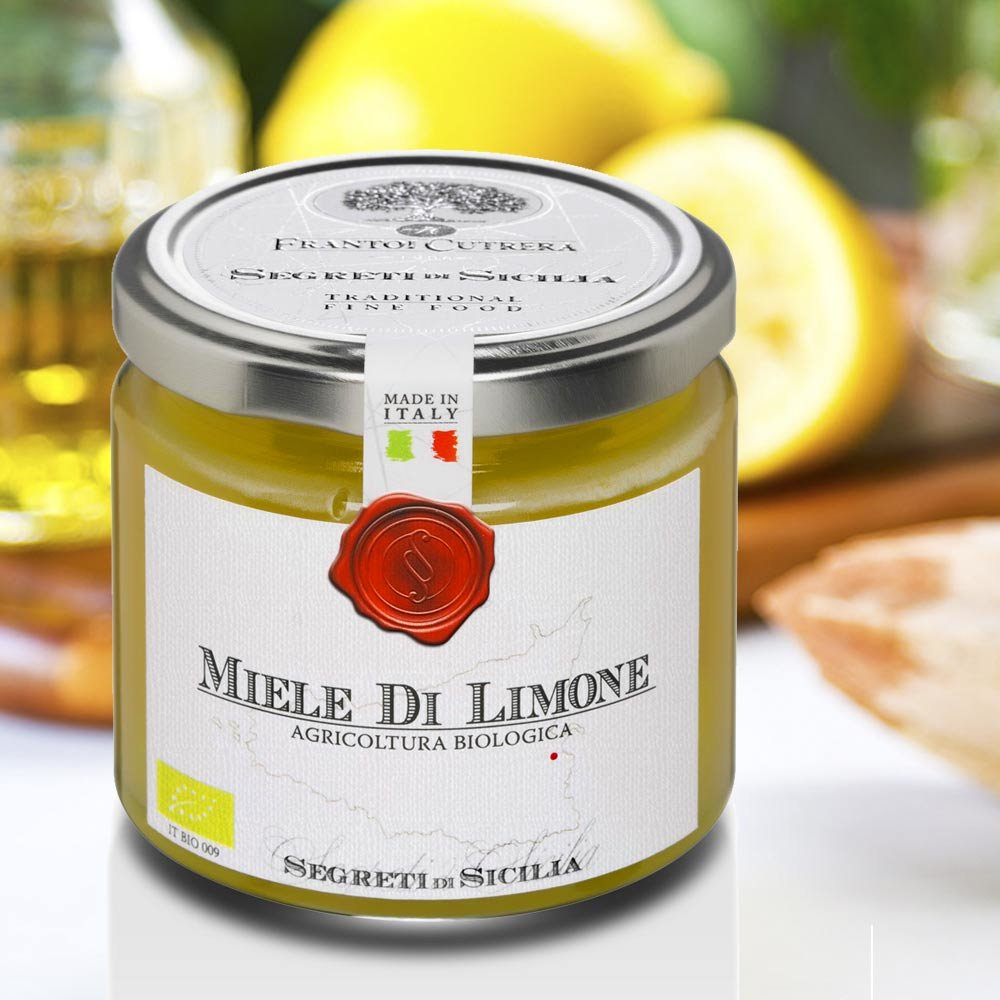 Zitronenblütenhonig Sizilien Miele di Limone Cutrera