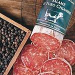 Stiersalami vom Chianina-Rind Salame con Toro Chianino