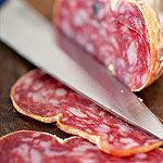 Soppressata piccante BIO pikante italienische Salami aus Apulien
