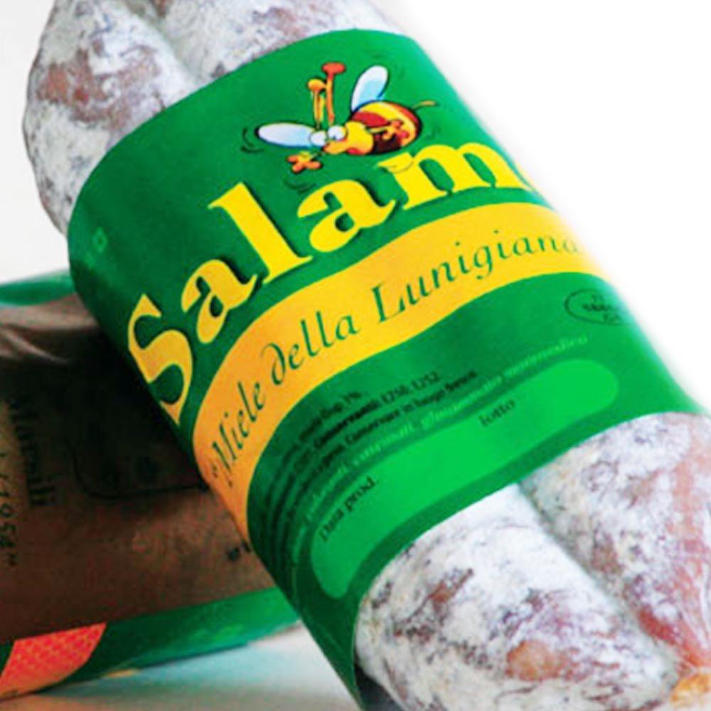 toskanische Salami mit Honig DOP Salamino al miele della Lunigiana