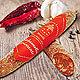 scharfe tokanische Salami am Stück Marsili Salamella piccante della Lunigiana