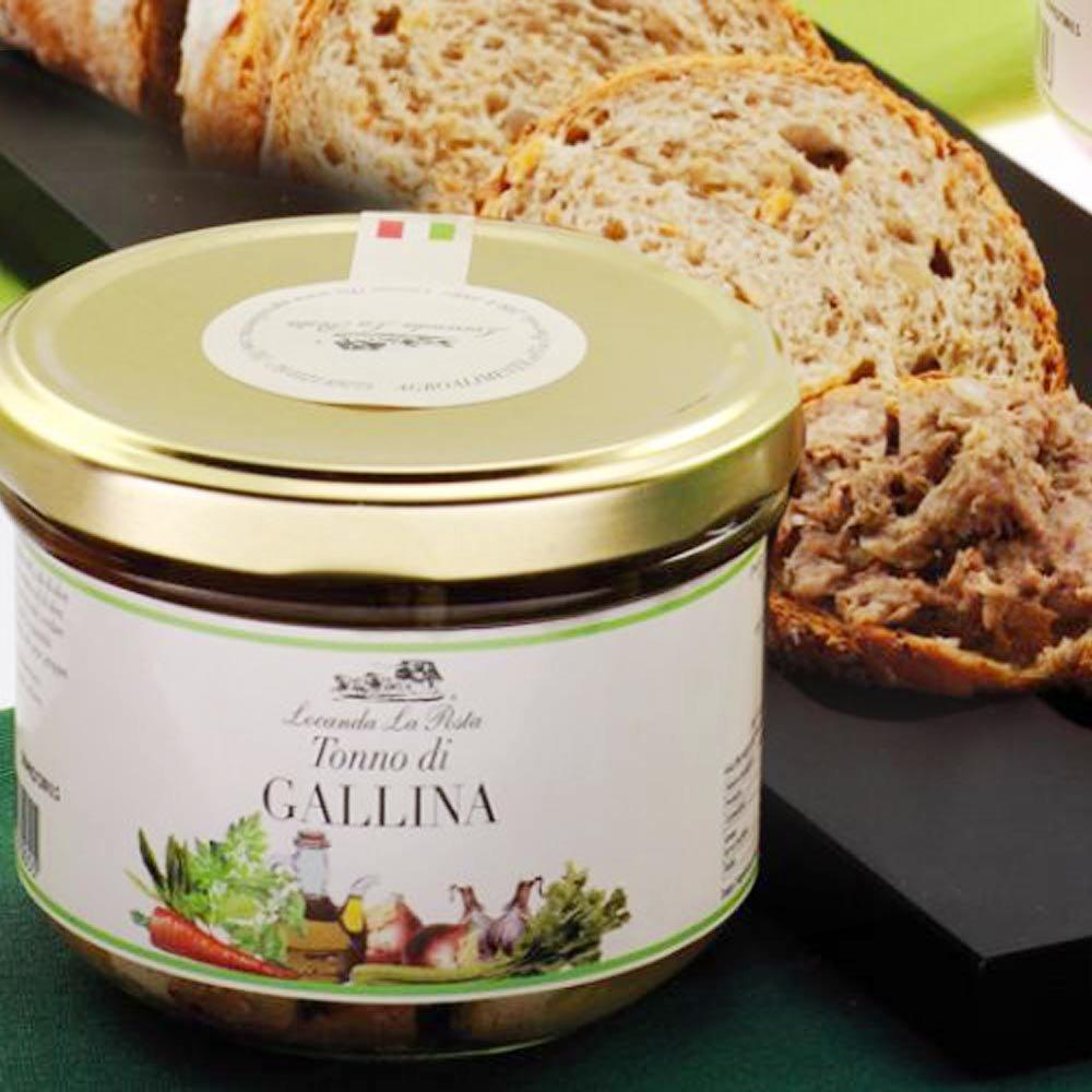 Tonno di Gallina Hähnchenfleisch in Olivenöl