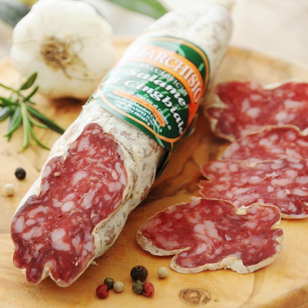 Salame di Cinghiale Wildschweinsalami Marchisio Piemont
