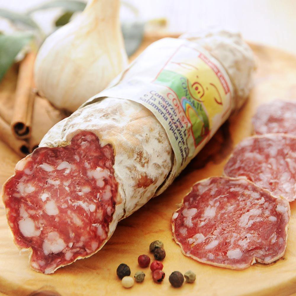 Salame Cuneo Salamispezialit�t Piemont