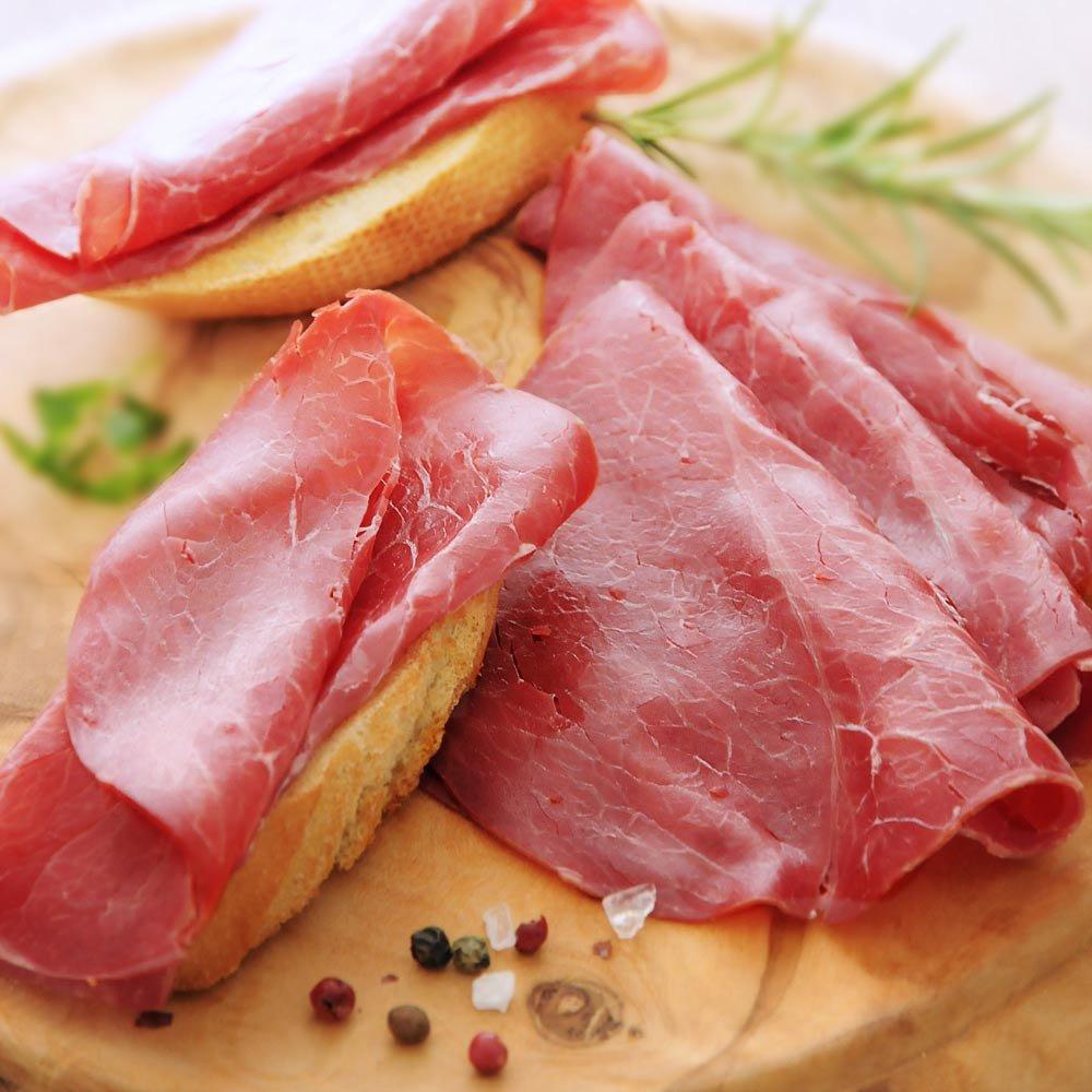Manzo cotto Rinderbraten geschnitten Piemont