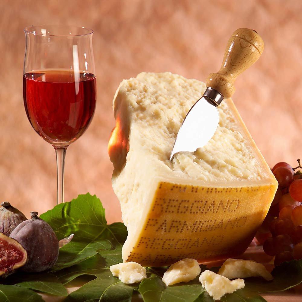 Parmigiano Reggiano stravecchio Parmesan D.O.P. 36 Monate gereift