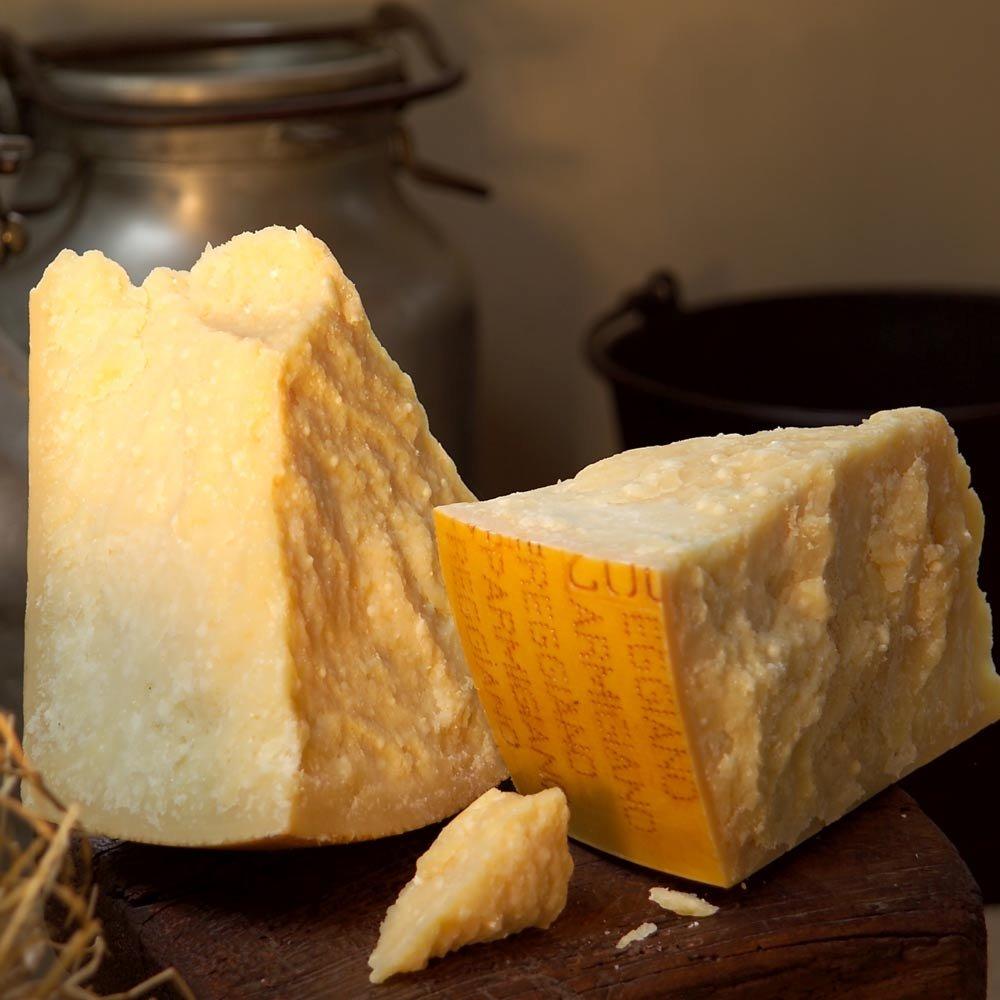 Vacche Rosse Parmigiano Reggiano D.O.P. Rohmilchk�se vom roten Rind vecchio 31 Monate gereift