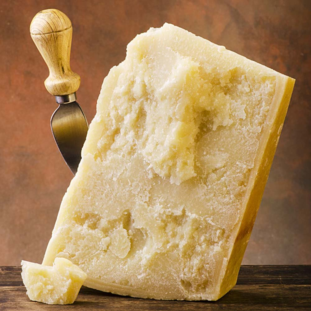 Grana Padano DOP Hartkäse 15 Monate gereift Rohmilchkäse
