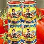 San Marzano Tomaten D.O.P. 4 Dosen handgeerntete, gesch�lte Top-Qualit�t